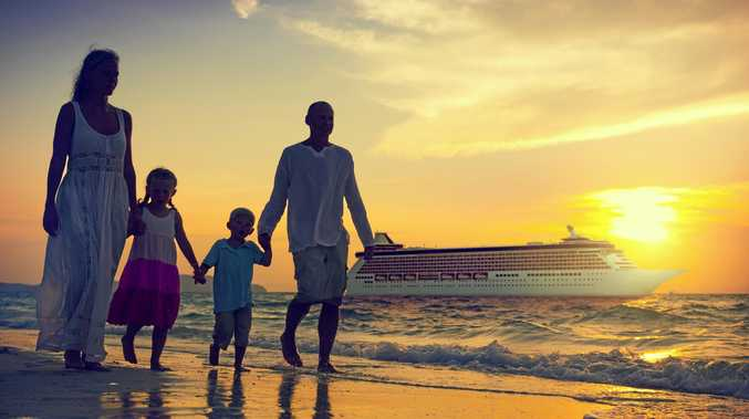 PACK YOUR BAGS: Family cruises are popular over the holiday period.