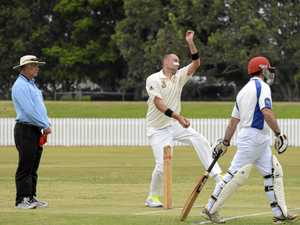 IN FORM: Iluka's Jason Allen has been contributing to his team with both bat and ball this season.