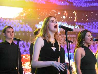 SING: Alyssa Mackenzie of Kingscliff High School will feature with the elite backing vocalists.
