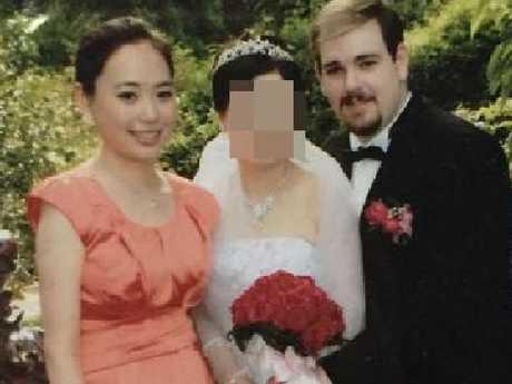 Michelle Leng (left) with her killer Derek Barrett. Picture: Instagram