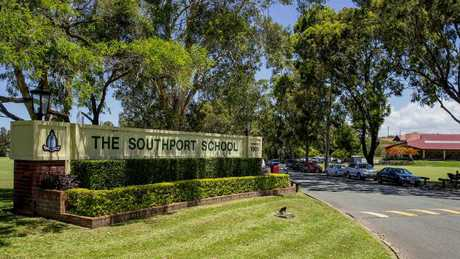 The Southport School on the Gold Coast. Picture: Jerad Williams