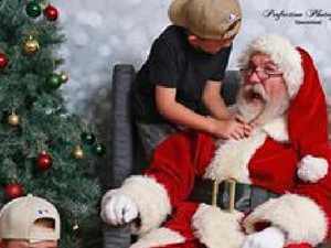 New 'Silly Santa' photo trend banishes awkward Santa pics