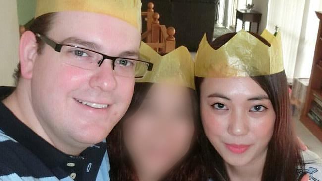 Derek Barrett (left) has been jailed for killing his niece Mengmei Leng (right). Picture: AAP/Instagram.