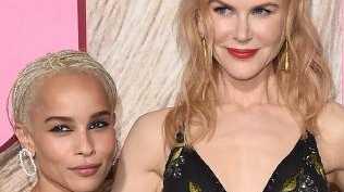 Nicole Kidman was almost co-star Zoe Kravitz's stepmum. Picture: Supplied