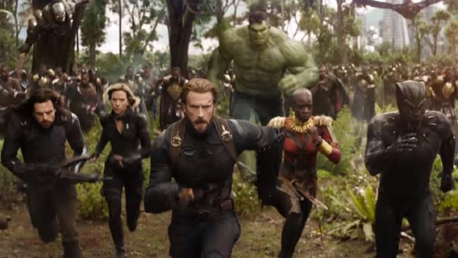 Marvel Cinematic Universe movies have made $US13.4 billion so far Film trailer: Avengers — Infinity War.