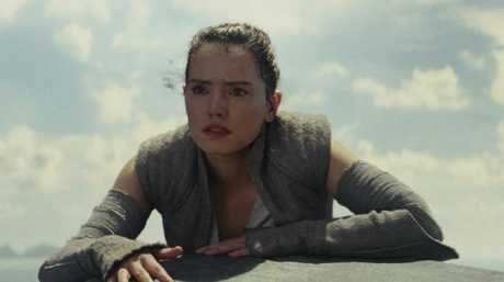 Rey (played by Daisy Ridley) in The Last Jedi. Picture: Lucasfilm