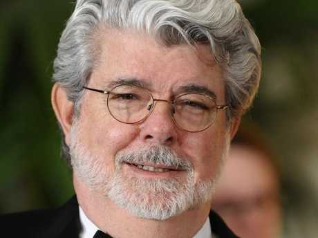 Director George Lucas was not impressed with production of The Last Jedi. Picture: Supplied