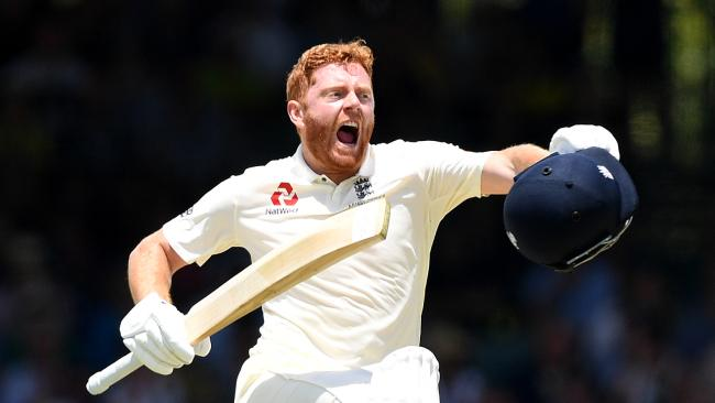 Jonny Bairstow scored a fine century on day two at the WACA Ground.