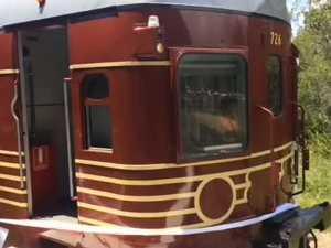 World's first solar train