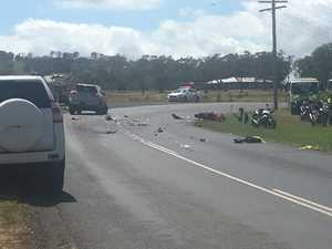 Police confirm motorcycle crash victim was a learner rider