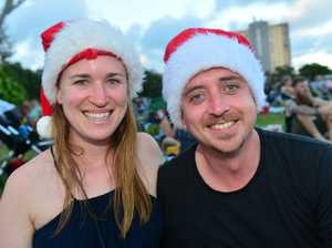Claire and Tim Green at Mooloolaba for the annual