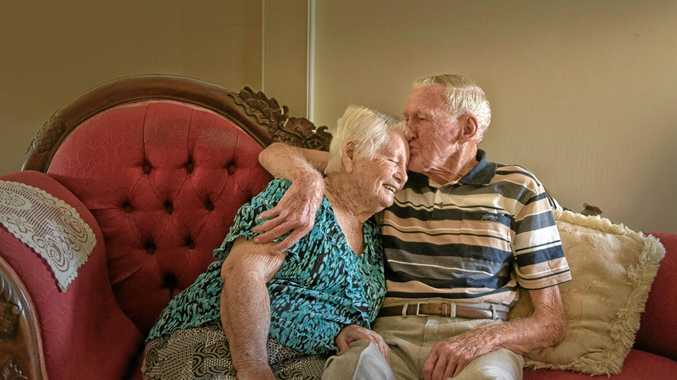 LIFE-LONG LOVE: Lena and Lex Essex of Maclean celebrate their 70th wedding anniversary today.