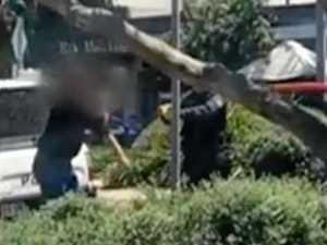Violent man tasered after assaulting police in Coolum