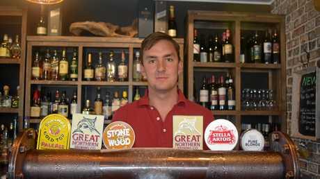 The Malt House manager Jake Hatton.
