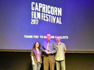 Gladstone filmmaker strikes gold at Capricorn Film Festival