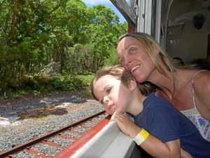 Byron Bay rail revived after 13 years with solar train