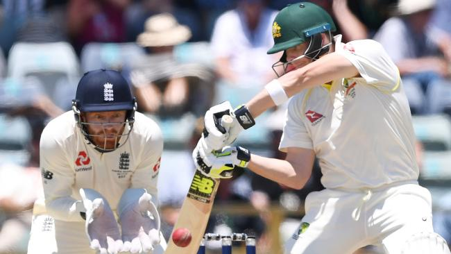 Smith has the second highest average in Test cricket behind Sir Donald Bradman