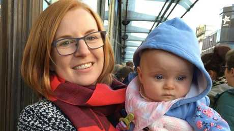 Anna Thompson found the process of jobseeking while pregnant 'surprisingly stress-free'