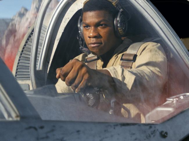 John Boyega's Finn gets short-changed with a preposterous subplot in The Last Jedi.