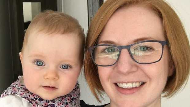 Anna Thompson with her daughter Emily