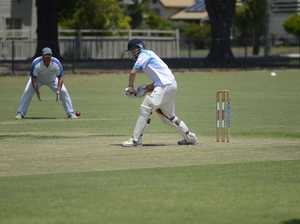 Coutts Crossing captain Nick Wood launches into a