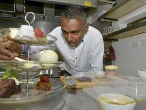 A new business has just opened, Café J'Adore Dessert Lounge, Booval, where everything is handmade. Chef Adrian Singh
