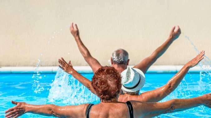 Water aerobics rockhampton