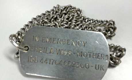 A medical alert dog tag was found near Mooloolaba yesterday.