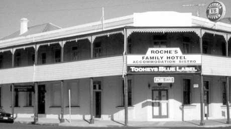 ABOVE: Roche's Hotel, 2000. Licensee: John K Brien.