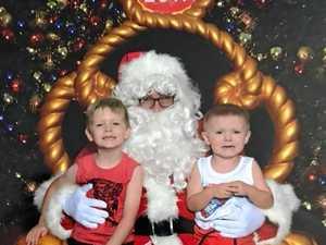 Santa came to town