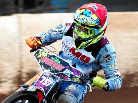 Maryborough Speedway - Queensland Solo Titles - Joel Coyne.