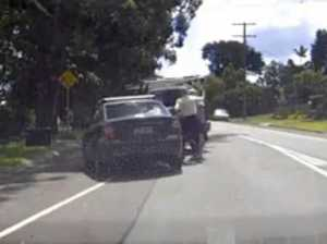 VIDEO: Elderly men trade blows in Coast road rage
