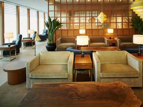 Cathay Pacific's first and business lounge at Heathrow Airport's Terminal 3. Picture: Cathay Pacific
