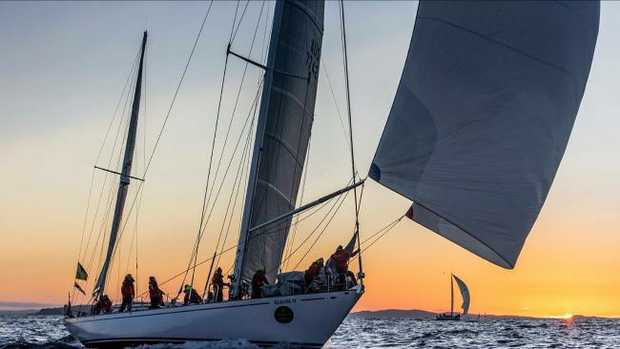 Kialoa II is back in the race after a record 46-year gap since her appearance in the Sydney to Hobart.