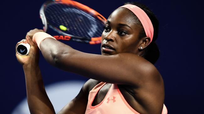 Sloane Stephens rose from 957 in the world to win the US Open title in September.