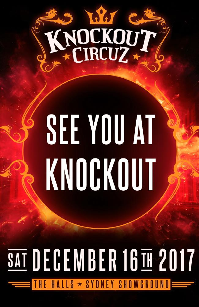 Poster for Knockout Circuz. 2017
