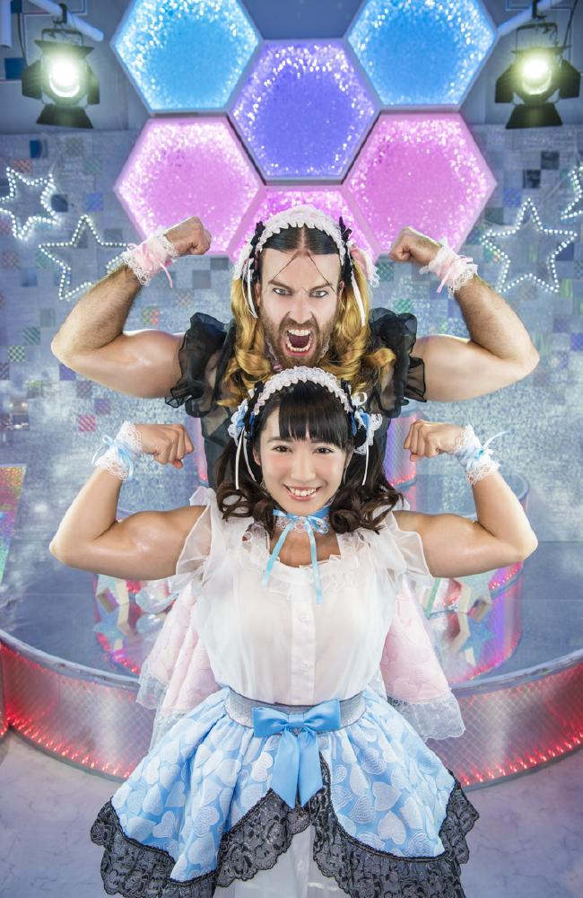 Richard Magarey and bodybuilding idol Reika Saiki are Deadlift Lolita.