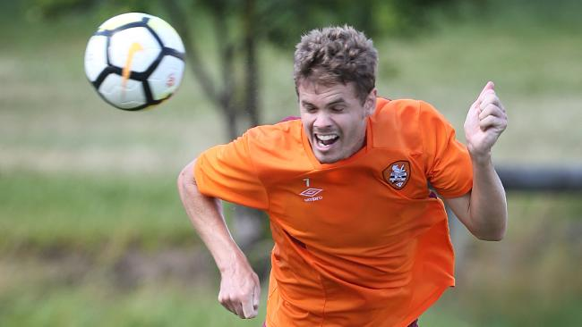 Thomas Kristensen returns from injury for Brisbane Roar.