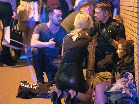 Dozens of people were wounded in the Manchester Arena blast