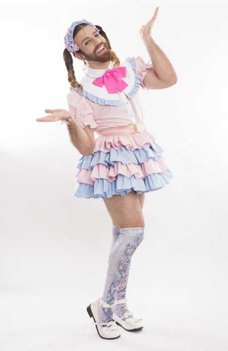 "Ladybeard has been described by fans as ""absurd in the worst way possible""."
