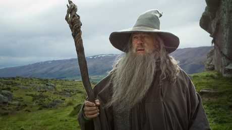 Gandalf was a key figure in the LOTR and Hobbit series.