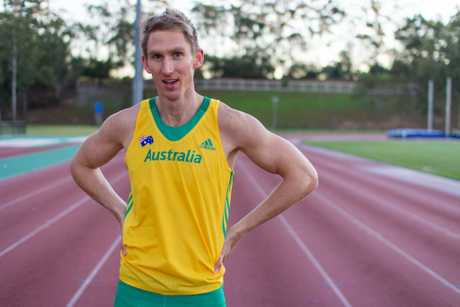 Australian Commonwealth Games team member Craig Burns. Photo Contributed