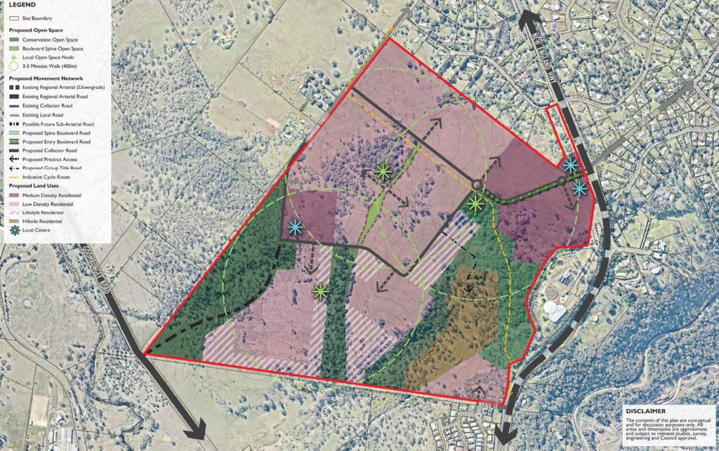 NEW SUBURB: Local developers are planning a 1000-lot suburb north of Toowoomba, which is expected to house up to 5000 people over 15 years.