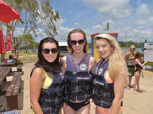 Holiday fun at the Bli Bli Aqua Park.Hannah Pollard