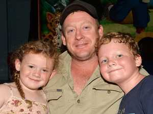 Charlie Henderson with Wendy-Jane and Charlie Jnr at