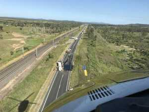 Bruce Hwy to remain closed until after 7pm after crash