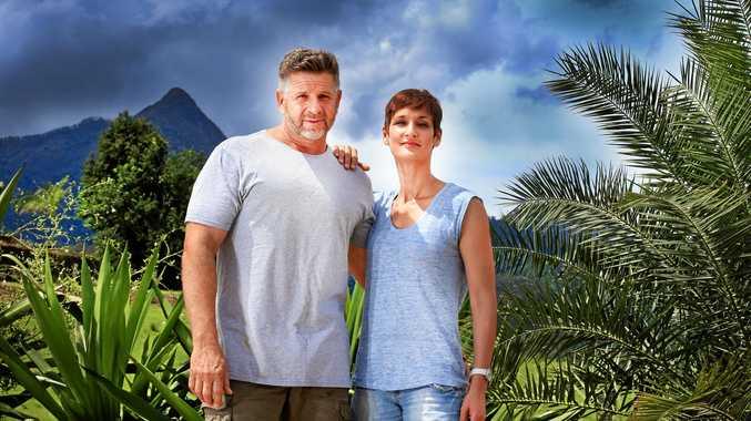 WINNING ACCOLADES: Shaun and Tessa Martin from Yaru Water at Uki.