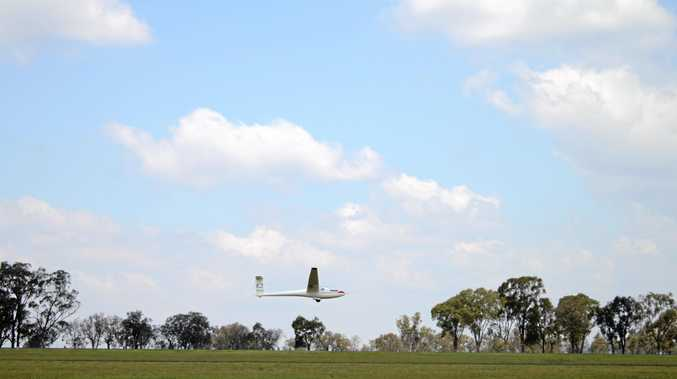 UP IN THE AIR: a funding application for a new designated glider strip has been knocked back and council is looking into other options. Photo Shannon Newley / Warwick Daily News