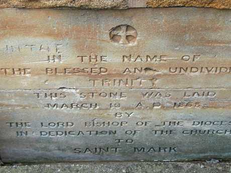 The foundation stone for St Mark's Anglican Church in Warwick was laid on March 1868.
