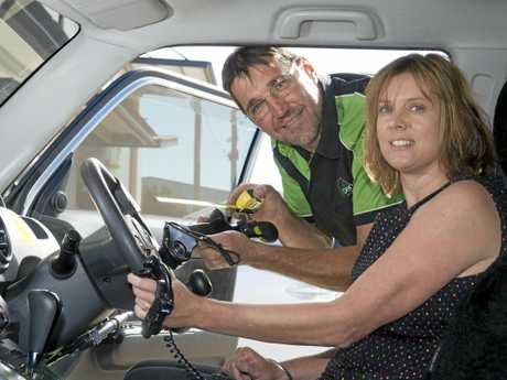 Mary-Ann and Scott Errington of Reben Mobility can modify a car to suit a range of needs.